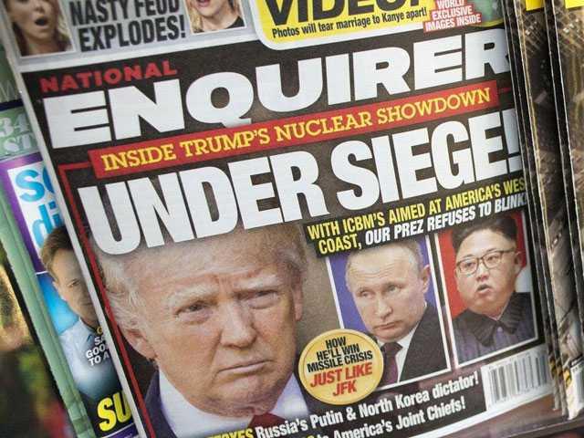 National Enquirer Parent Explores Possible Sale of Tabloid