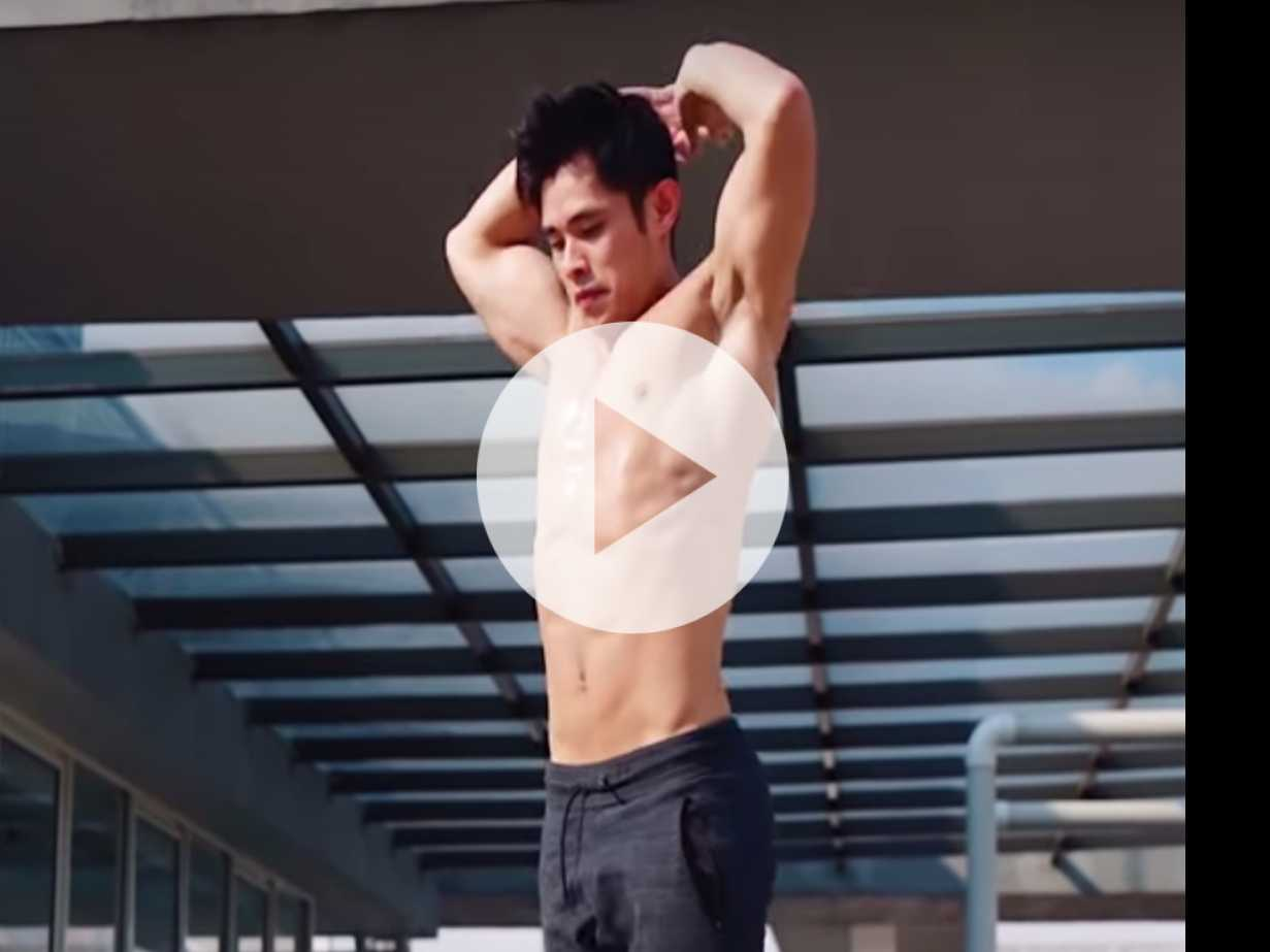 Fitness Friday: Jordan Yeoh's 3-Minute Workout