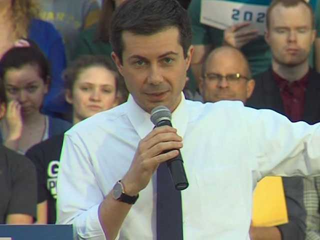 Buttigieg Unfazed by Anti-LGBTQ Hecklers in Iowa