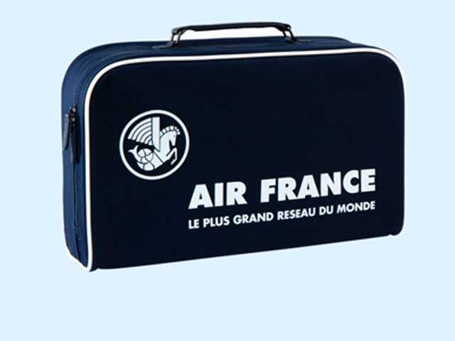 Air France Revives Its Famous Suitcase with Vintage Collection