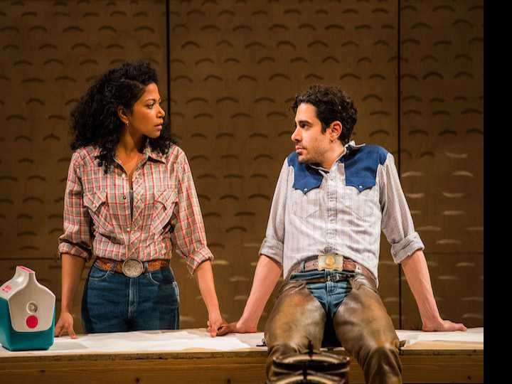 Review :: All er Nuthin': An Uncompromising 'Oklahoma!' Gallops Onto Broadway
