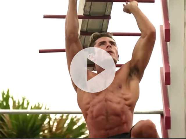 Watch: Zac Efron's 'Baywatch' Workout