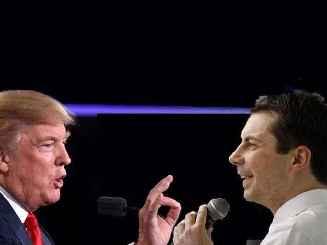 Report: Trump Reckons He'd 'Like Running Against' Buttigieg