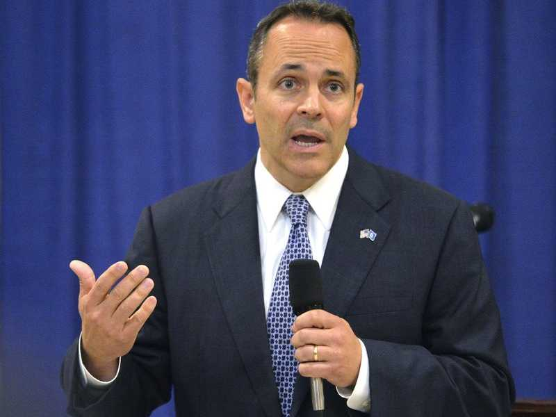 Despite Battles, Kentucky's GOP Gov Looks on Track for Election Victory