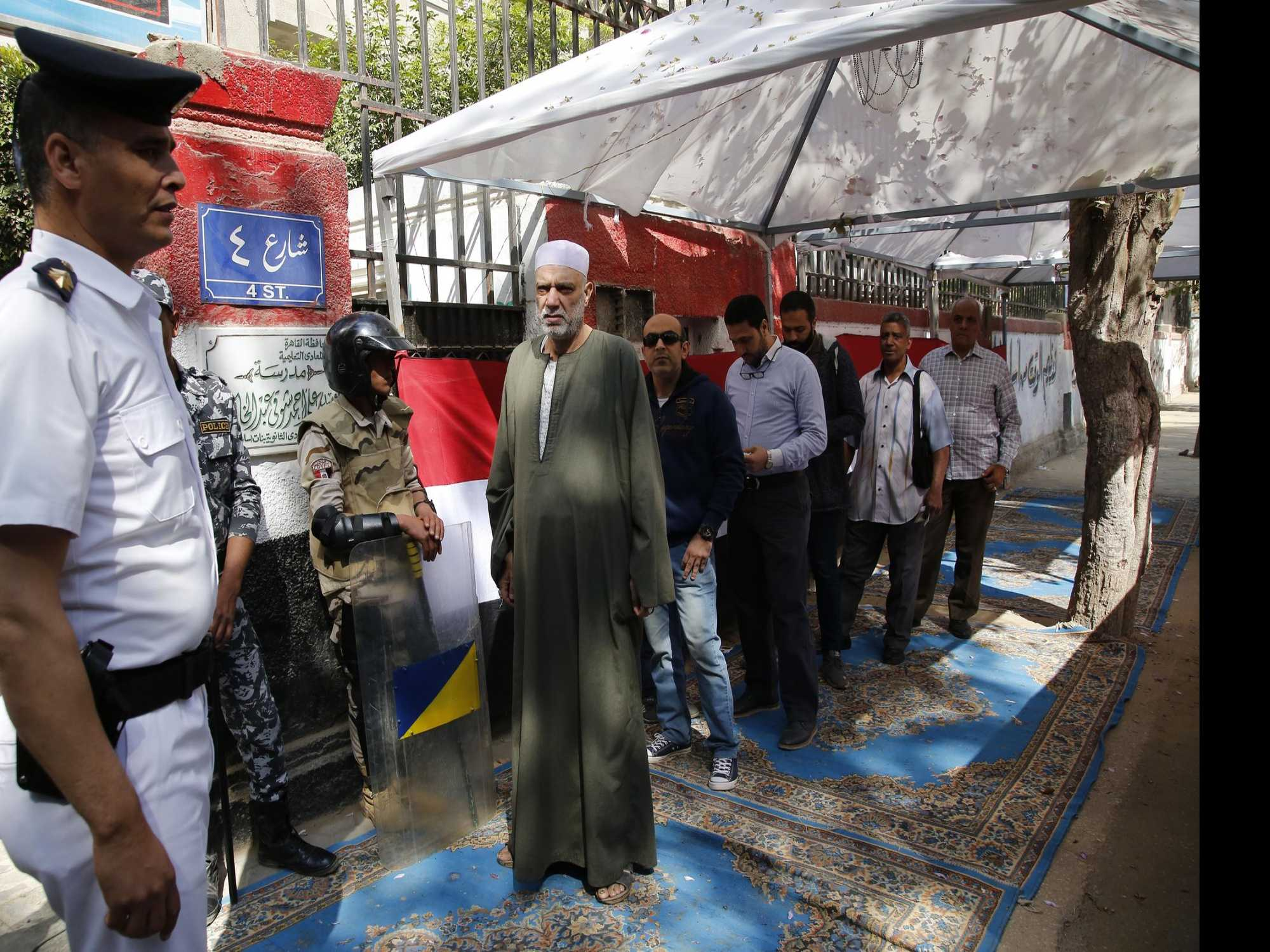 Egyptians Vote on Changes That Would Extend el-Sissi's Rule