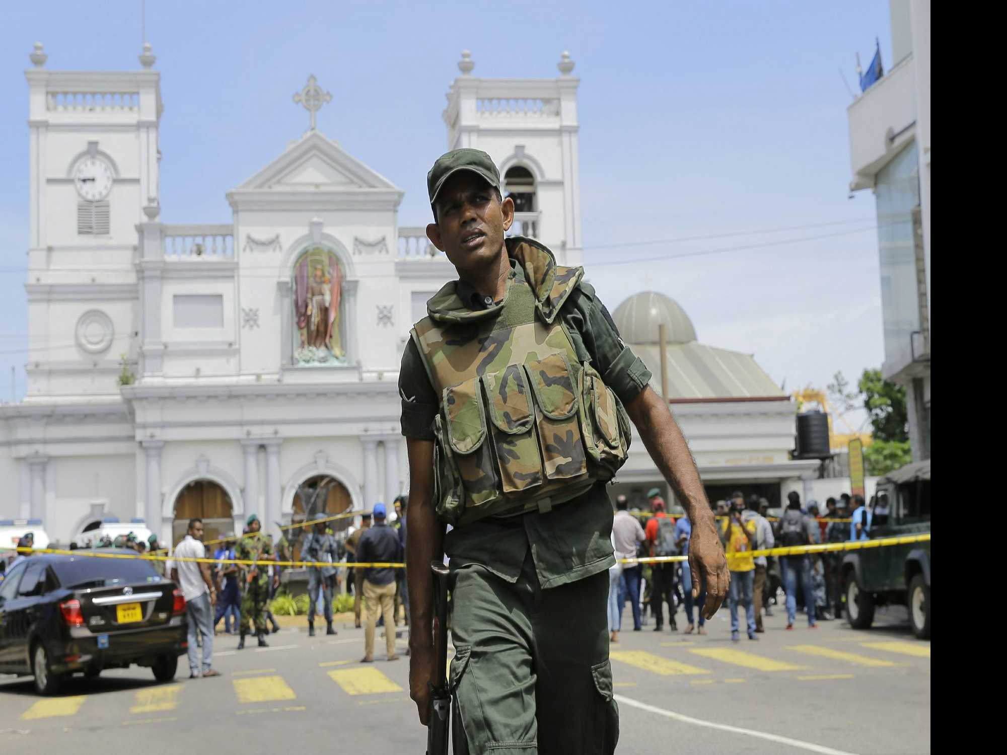 Explosions Kill at Least 30 in Sri Lanka on Easter Sunday