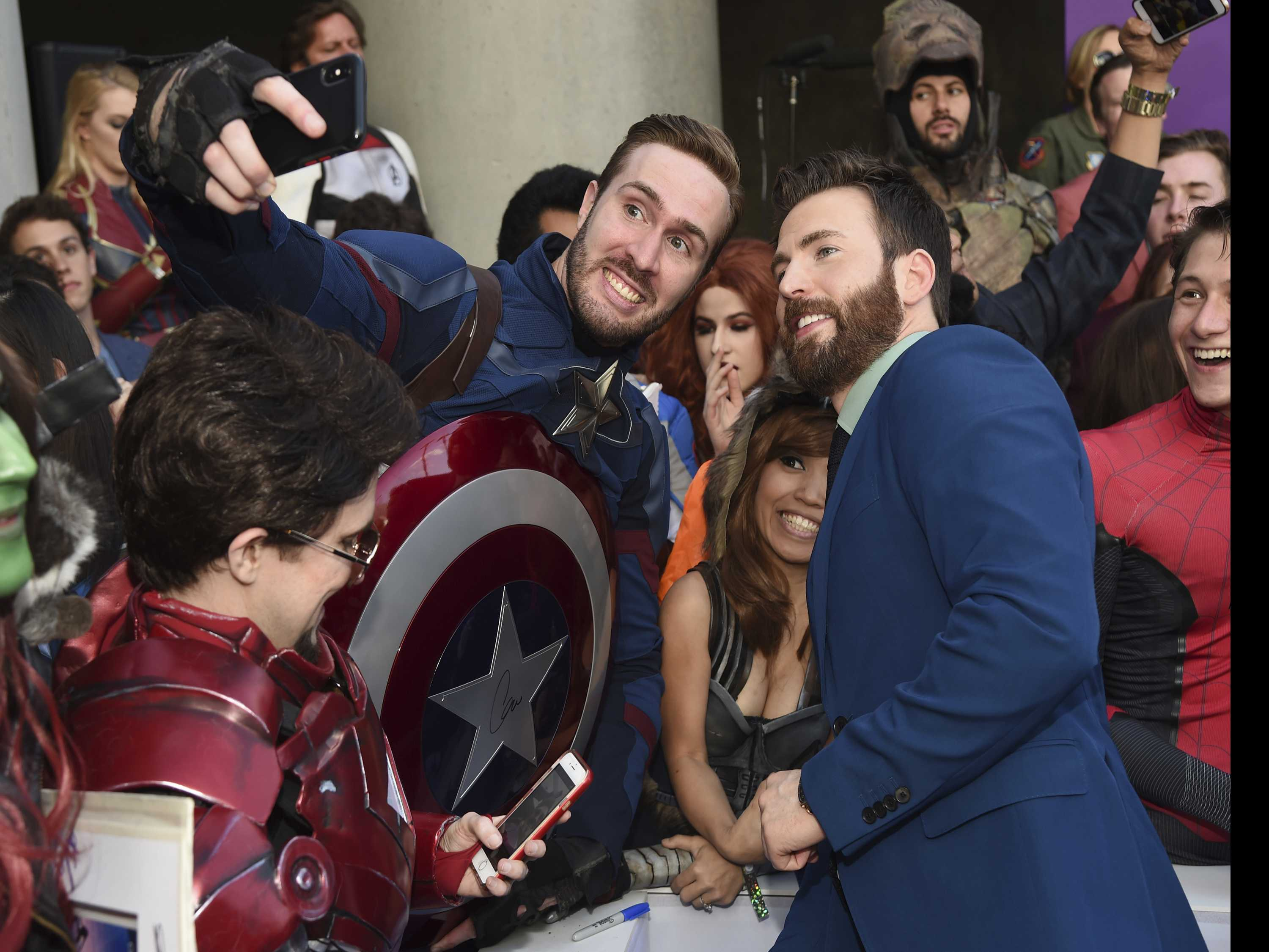 Avengers Get Epic Send-Off at 'Endgame' World Premiere
