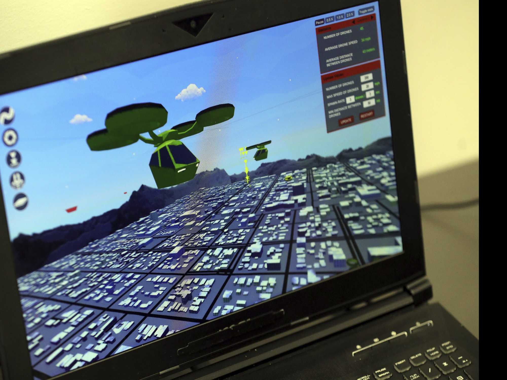 Video Game Effort Could Help Regulate Future Drone Traffic