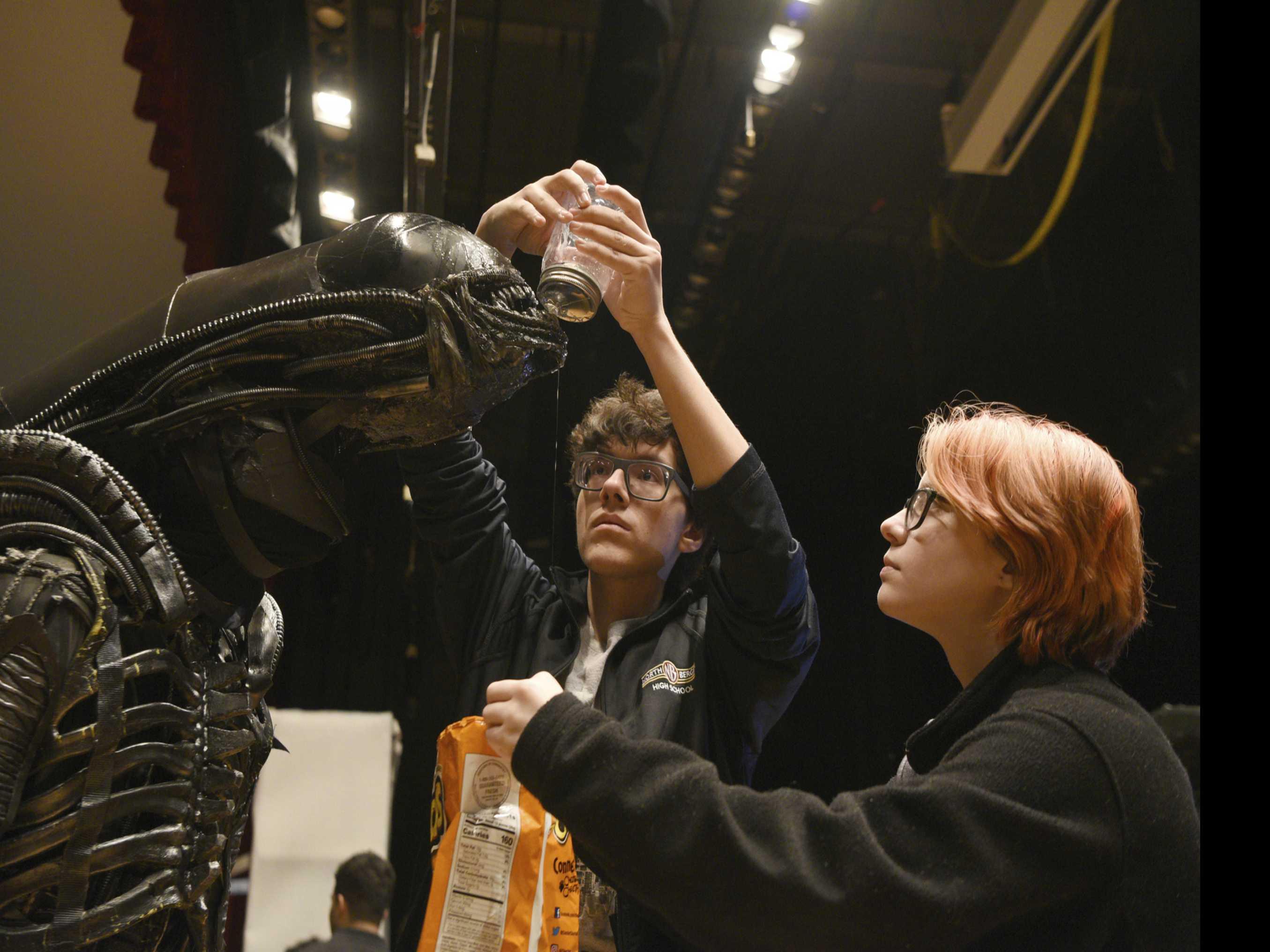 Sigourney Weaver Helps School Celebrate 'Alien' Production