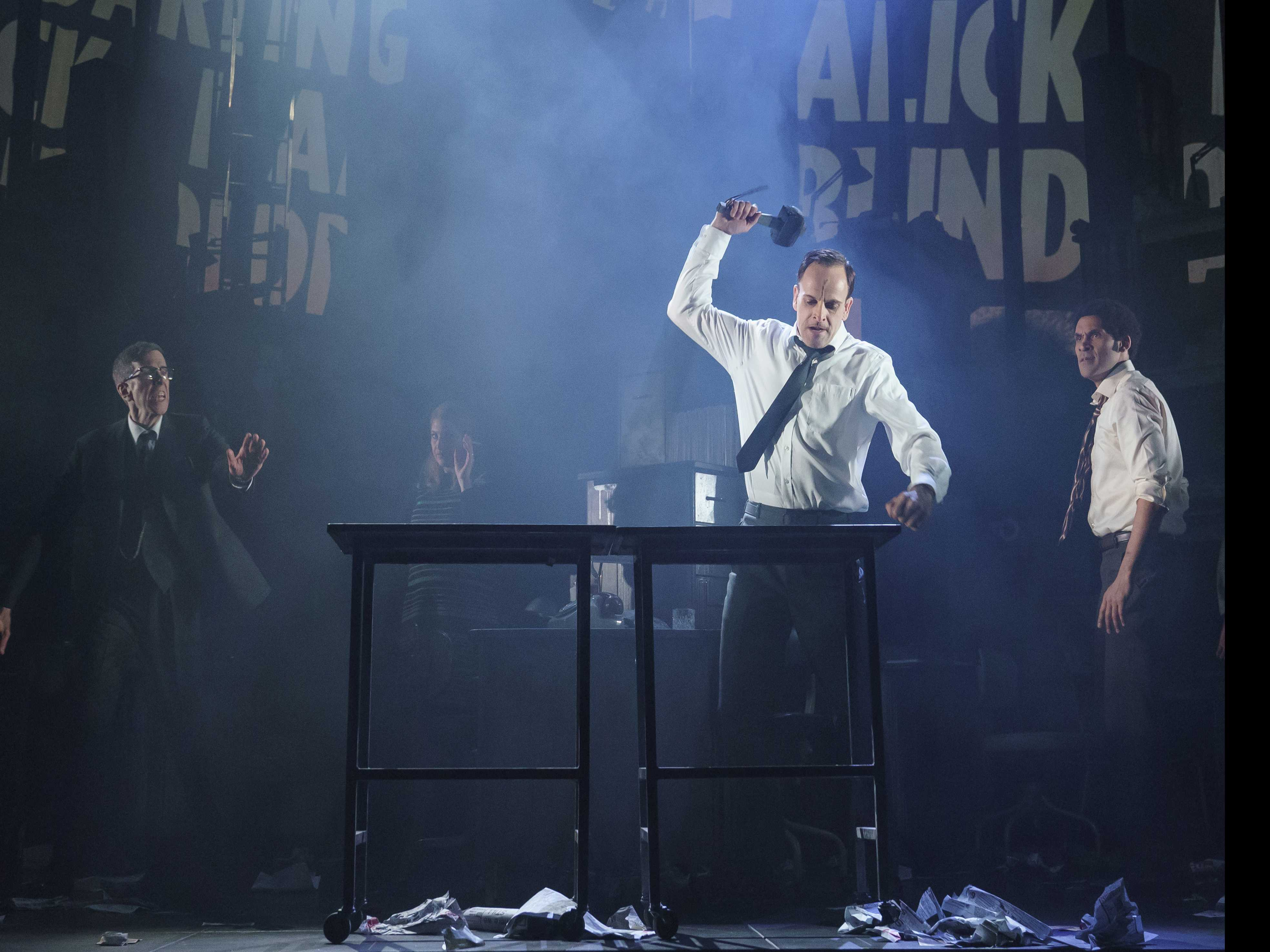 Review :: Fake News? It Depends on Who You Ask: Broadway's 'Ink'