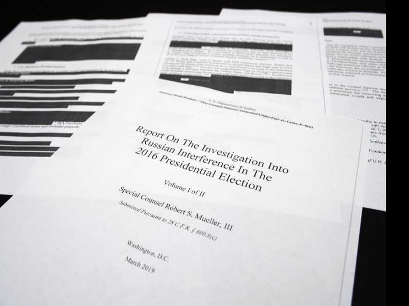 'The Mueller Report' is Officially A Best-Seller