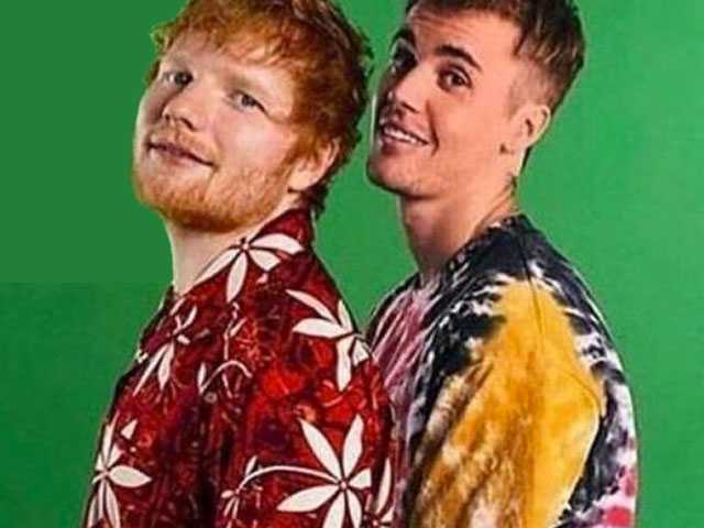 PopUps: Justin Bieber Teams Up with Ed Sheeran for New Single 'I Don't Care'