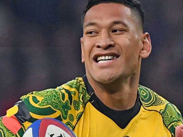 Anti-Gay Aussie Athlete Israel Folau Loses Asics Sponsorship