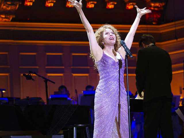 Review :: Bernadette Peters Dazzles at Boston Pops Opener