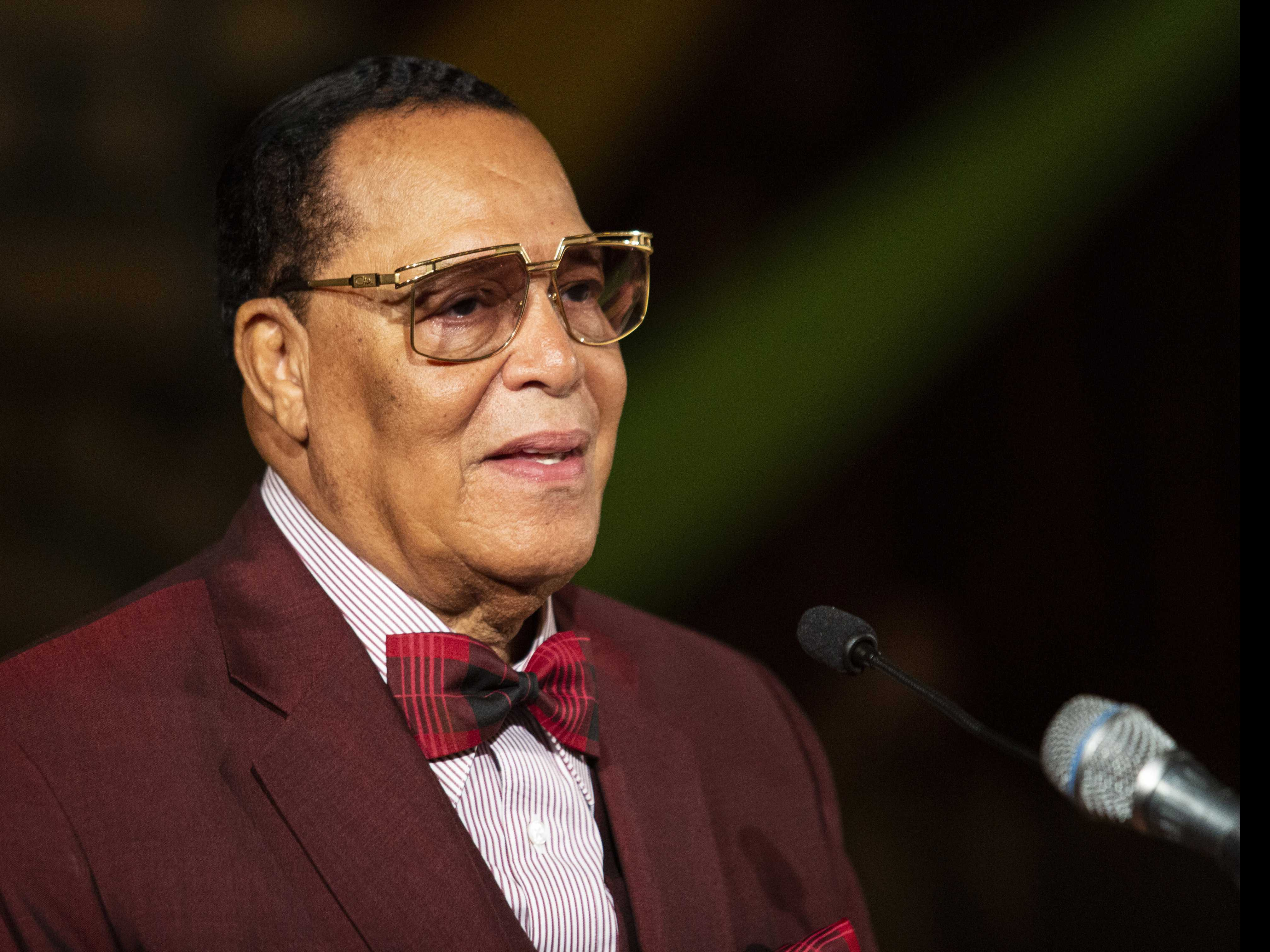 Farrakhan Says He Doesn't Hate Jewish People