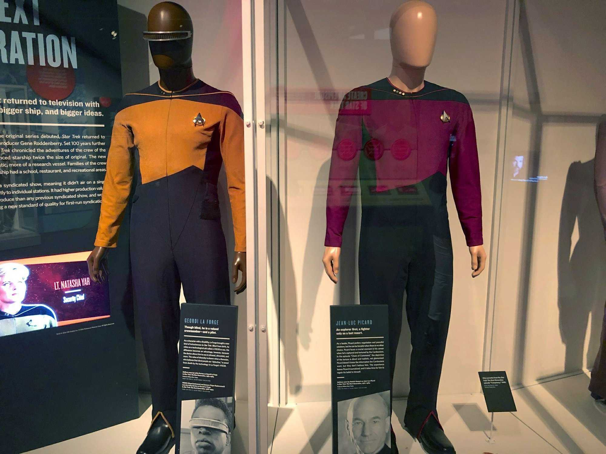 Museum Exhibition Offers Glimpse Into World of 'Star Trek'