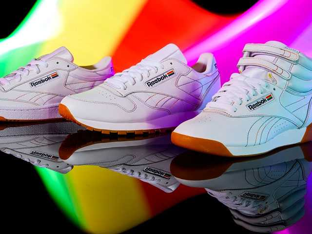 Reebok Launches Capsule 'Pride Pack' Collection