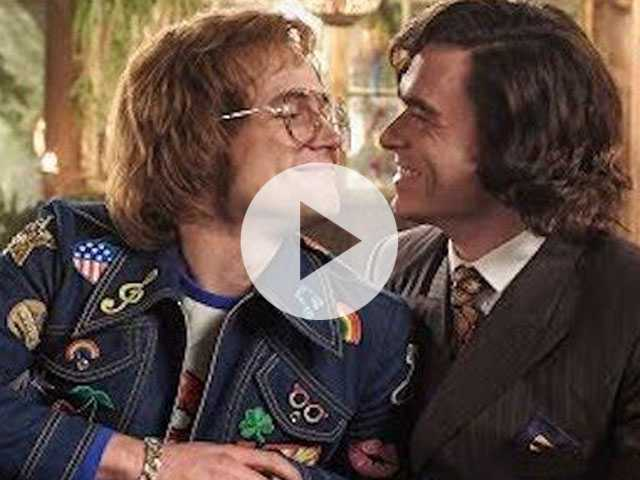 Watch: Taron Egerton & Richard Madden Have Sexual Tension in New 'Rocketman' Clip