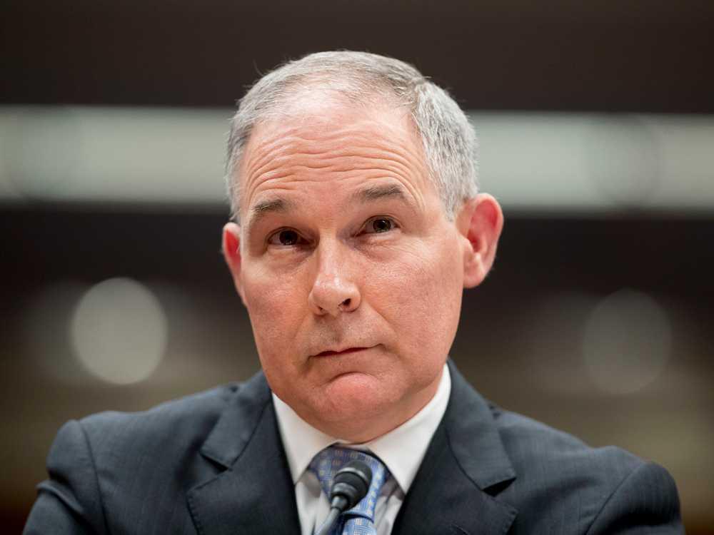 Watchdog: EPA Should Recoup Travel Money from Pruitt, Guards