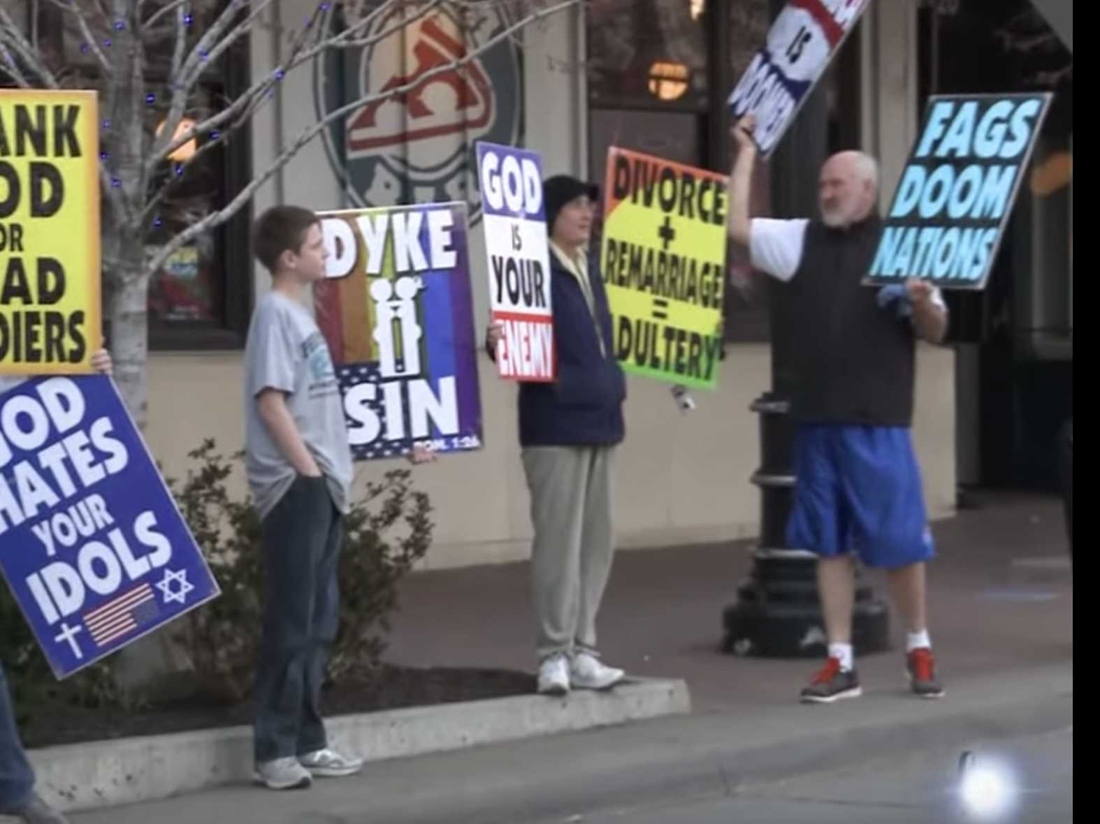 Westboro Baptist Protests Morehouse Over Transgender Policy