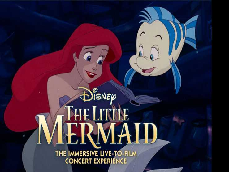 Review :: The Little Mermaid: An Immersive Live-to-Film Concert Experience