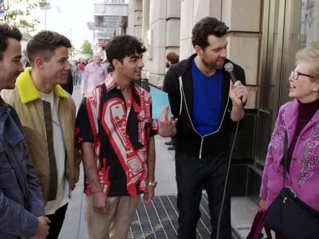 Watch: The Jonas Bros Appear on 'Billy on the Street'