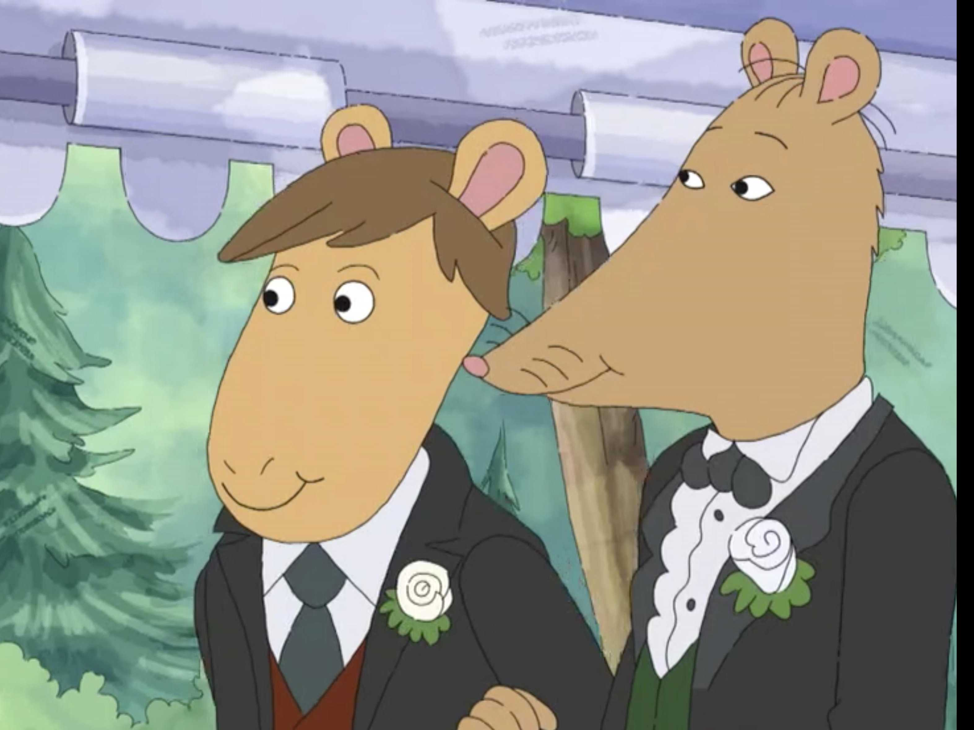 Like Alabama, Arkansas Public TV Didn't Air Gay Wedding 'Arthur' Episode