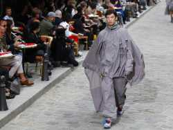 Sheer Spectacle: Paris is the Real Star of of Menswear Shows