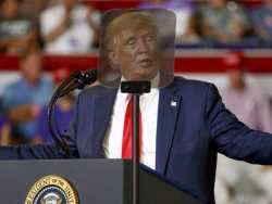 Trump Says Critics Hate America, Despite His Own U.S. Putdowns