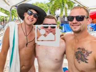 Key West Tropical Heat Garden Pool Party @ Bourbon Street Pub