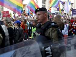Bosnian Capital Holds 1st Pride Parade Amid Heavy Security