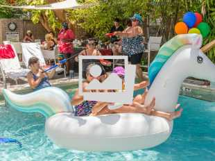 Key West Womenfest 2019 Kick Off And Pool Party @ Alexander's Guesthouse