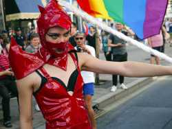 Serbian Police Intervene to Protect Gay Pride Parade