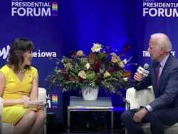 Awkward Moments for Joe Biden at Iowa Forum on LGBTQ Issues