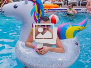 Key West Fantasy Fest Bow Ties & Birthday Suits Pool  Party @ Island House
