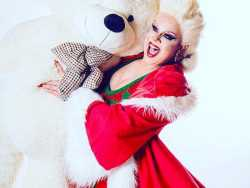 Getting Naughty (and Nice) with Nina West for 'A Drag Queen Christmas'