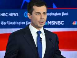 At Dem Debate, Buttigieg Takes Hits on Issue of Experience