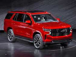 Amid Climate Change Concern, GM Rolls Out Big New Chevy SUVs
