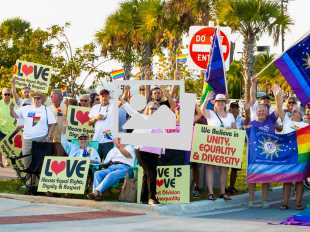 Franklin Graham Protest @ The Key West Amphitheater :: January 16, 2020
