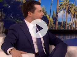 Watch: Pete Buttigieg Appears on 'Ellen,' Takes Aim at Limbaugh Again
