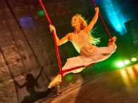 Review: 'The Aerialist,' A Story about Schemes and Ambition, Soars