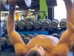 Watch: Sam Asghari Offers Workout Tips
