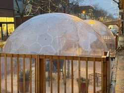 Yurts, Igloos and Pop-Up Domes: How Safe Is 'Outside' Restaurant Dining This Winter?