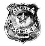 Shielded by the badge