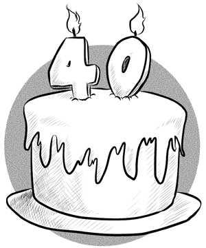 At 40