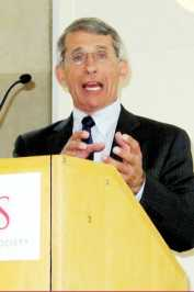 Fauci at the center of the AIDS story