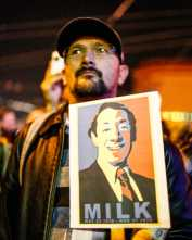 Housing takes center stage at Milk-Moscone vigil