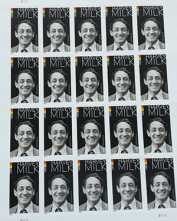 Political Notebook: US postal museum to include Harvey Milk stamp