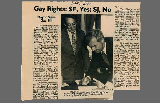 40 years ago, San Francisco adopted historic gay rights law
