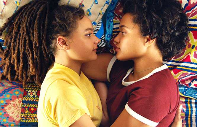 Heartwarming drama with lesbian love